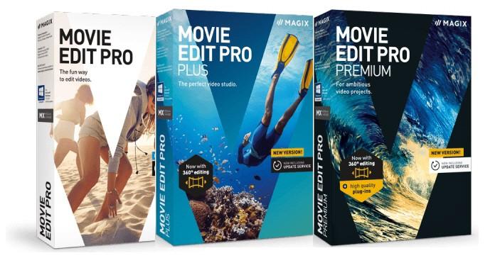 MAGIX Movie Edit Pro Video Editing Software 2019