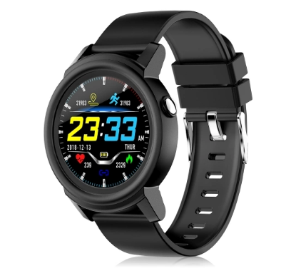 56% OFF for DK02 1.3In IPS Full Circular Screen Fitness Smart Tracker Watch