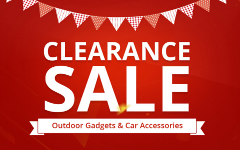 90% OFF Outdoor Gadgets and Car Accessories Clearance Sale
