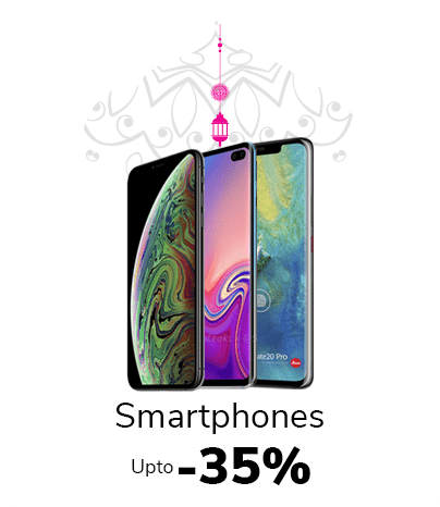 Up to 35% off on Smartphones