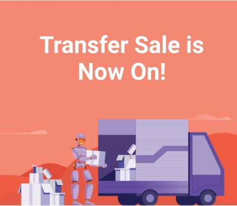 Up to 45% off most popular domains transfers